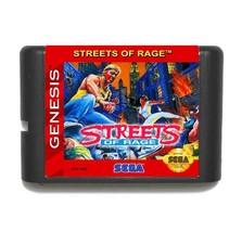 Street Of Rage 16 bit SEGA MD Game Card For Sega Mega Drive For Genesis - $13.00