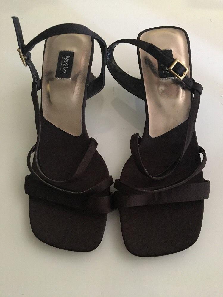 114ef61bf4e MOSSIMO Women s Black Summer Strappy Sandals Size 6M -  23.75