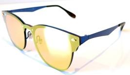 Rayban Blaze Clubmaster sunglasses RB3576N 9037/7J Blue Orange Yellow 35... - $99.99