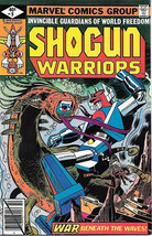 Shogun Warriors Comic Book #9, Marvel Comics 1979 VERY FINE - $6.43