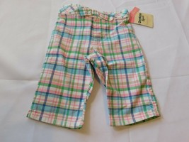 Osh Kosh B'gosh Youth Girl's Size 12 Months Capri Pants Cropped Multi Pl... - $16.19