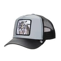 Goorin Bros Snapback Mesh Cap Black Tiger Instinct Only Trucker Hat 101-2680 image 1