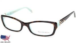 29f6604a55a NEW TIFFANY  amp  Co. TF 2064-B 8134 HAVANA EYEGLASSES GLASSES 51-