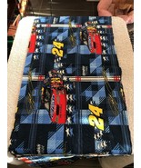 """Fabric Piece Motorsports Pattern Number 24 Craft Hobby Sewing 44"""" X 10"""" - $6.15"""