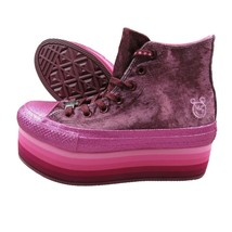 Converse Chuck Taylor Platform HI Miley Cyrus Pink 563725C Cosplay Women... - $89.05