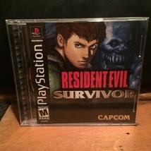 Resident Evil: Survivor (Sony PlayStation 1, 2000) Complete CIB PS1 - $41.59