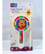 The First Years 3003 Winnie the Pooh Brush & Piglet Comb 2 Piece Set New - $9.89