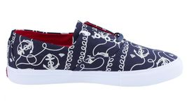Diamond Supply Co diamond Cuts Navy Anchors Canvas Sneakers Boat Shoes B14-F103 image 4