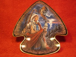 """9.5"""" Porcelain Collector Plate Cry Of The Cougar Franklin Mint Frizzell [Z6] - $29.51"""