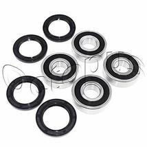 Compatible for HONDA ATC 250 R ATV Bearings kit both sides Front Wheels ... - $34.29