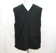 IZOD Mens Black V-Neck Golf Vest Jacket (Size XL) Full Mesh Liner, Rainw... - $12.95