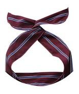 Vintage Self Tie Twist Headband for Women Girls Stripes Chiffon Hair Ban... - $17.45