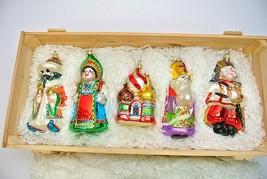 Kurt Adler Polonaise Russian Collection Ornaments, Set of 5 - $159.99