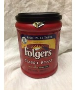 Folgers Classic Roast Ground Coffee 11.3 oz can  - $3.96