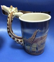 Lovely 3D Giraffe Cup Coffee Milk Tea Mug Drinkware Gift - $39.92
