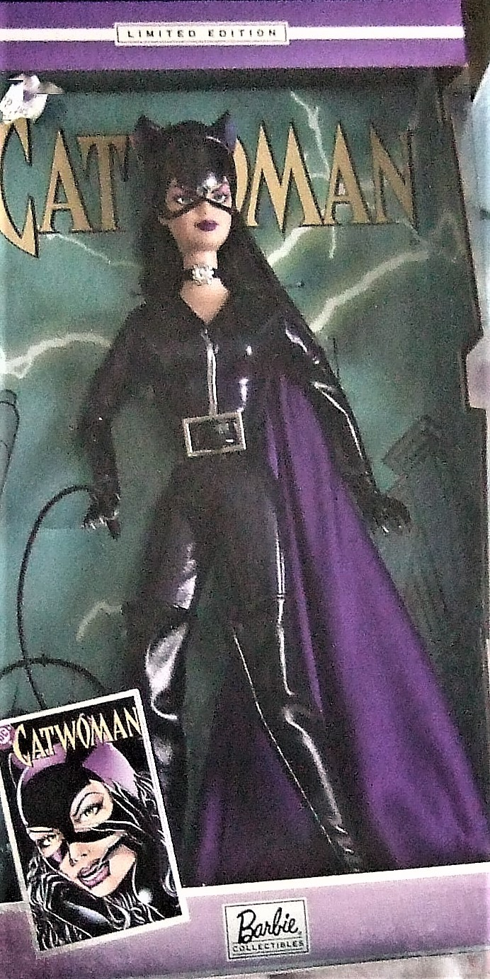 Barbie Doll -Mattel Barbie as Catwoman B3450 New image 3