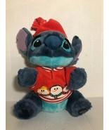 "Disney Store Stitch Snowman Plush 12"" Holiday Christmas Lilo Exclusive S... - $11.00"