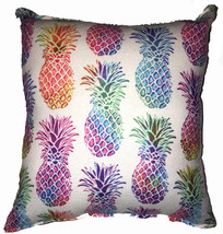 Pineapple Pillow Luau Hawaiian Pillow Tropical Theme Pillow HANDMADE In USA - $9.99