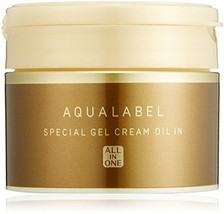 Shiseido Aqualabel Special Gel Cream Oil In Aging Care Type All-in-one 90g Japan - $33.34