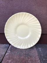 "Vintage Franciscan Ware Coronado Yellow Swirl Saucer Plate 6"" - $6.03"