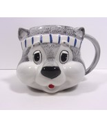 Cat Rare Mug Coffee Cup Vintage Zipper Cat Blue Headband Get Along Gang ... - $19.99