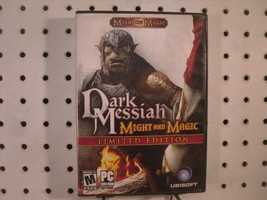 Dark Messiah of Might & Magic Limited Edition Ubisoft 2006 PC RPG Game - $7.30