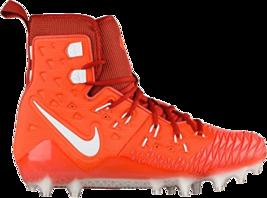 Nike Force Savage Elite TD Orange Football Cleats 857063-816 Mens Size 10 - $47.95