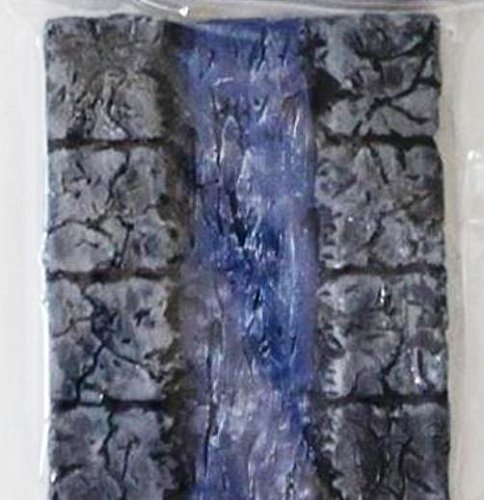 28mm pre painted Dungeon Terrain Accessories River Tile 1'' (4''x3'')