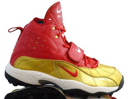 FSU Florida State RARE Nike Pro Shark Stove PF Football Size 14 Red/Gold - $43.20
