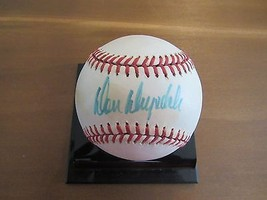 Don Drysdale 3X Wsc Cy Young Dodgers Hof Signed Auto Vintage Feeney Baseball Jsa - $197.99