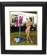 Jenny McCarthy signed 11X14 Photo Custom Framed (horizontal- Sexy bikini... - $123.95