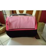 New Victoria Secret Insulated Flap Zip Beach Bag Pink/Black - $35.00