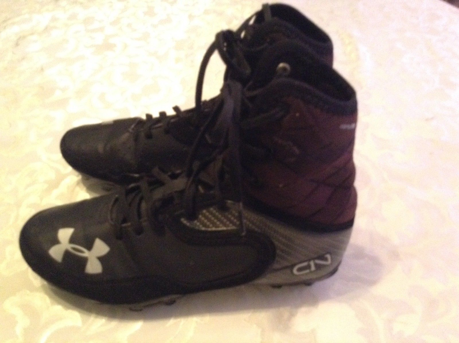 f8f7a79fea0 Football C1N Cam Newton Under Armour cleats and 50 similar items. S l1600