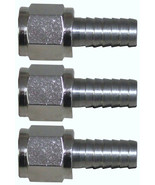 """1/4"""" Flare Swivel Nut Set with 5/16"""" Barb Stem - 3 Pack - $9.95"""