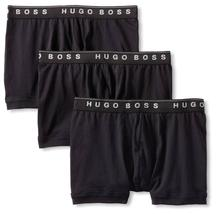 Hugo Boss Men's Natural Pure Cotton 3 Pack Underwear Boxers Trunks 50325383 image 3