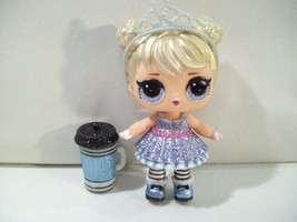 LOL GLAM GLITTER CURIOUS Q.T. MINI DOLL - $14.65