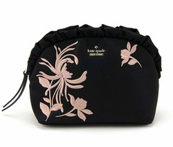 Kate Spade Small Marcy Cosmetic Case Dawn Place Ruffle Embroidered Pouch - $39.99