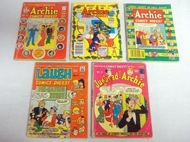Archie Comics Digest #18, #25, #34, Laugh Digest #3, Jughead With Archie... - $12.99