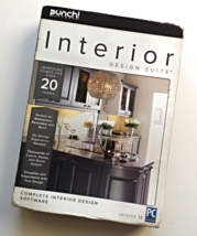 Punch Software Interior Design Suite 18 for Windows - Sealed Retail Box - $25.00