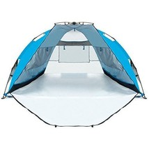 Portable Beach Tent Sun Extra Large Shade Shelter Outdoor Hiking Travel ... - $86.13
