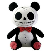 Furrybones Panda Bear Pandie Wearing Red Bow Tie Plush Doll - $19.79