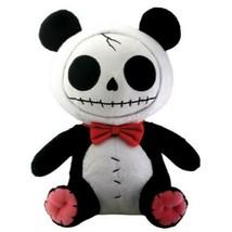 Furrybones Panda Bear Pandie Wearing Red Bow Tie Plush Doll - $19.79