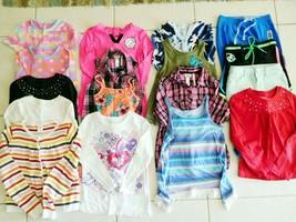 Girls Clothes Lot 17 JUSTICE CHILDRENS PLACE GYMBOREE See Desc. Szs 7-8 ... - $48.26