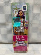 BARBIE Team Stacie Gaming Doll with Accessories Labtop Computer Mattel NEW - $34.64