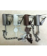 4 Pc. Dog Proof Variety Pack Duke Bridger Z-Trap  DP Coon Trapping  Raccoon - $49.80