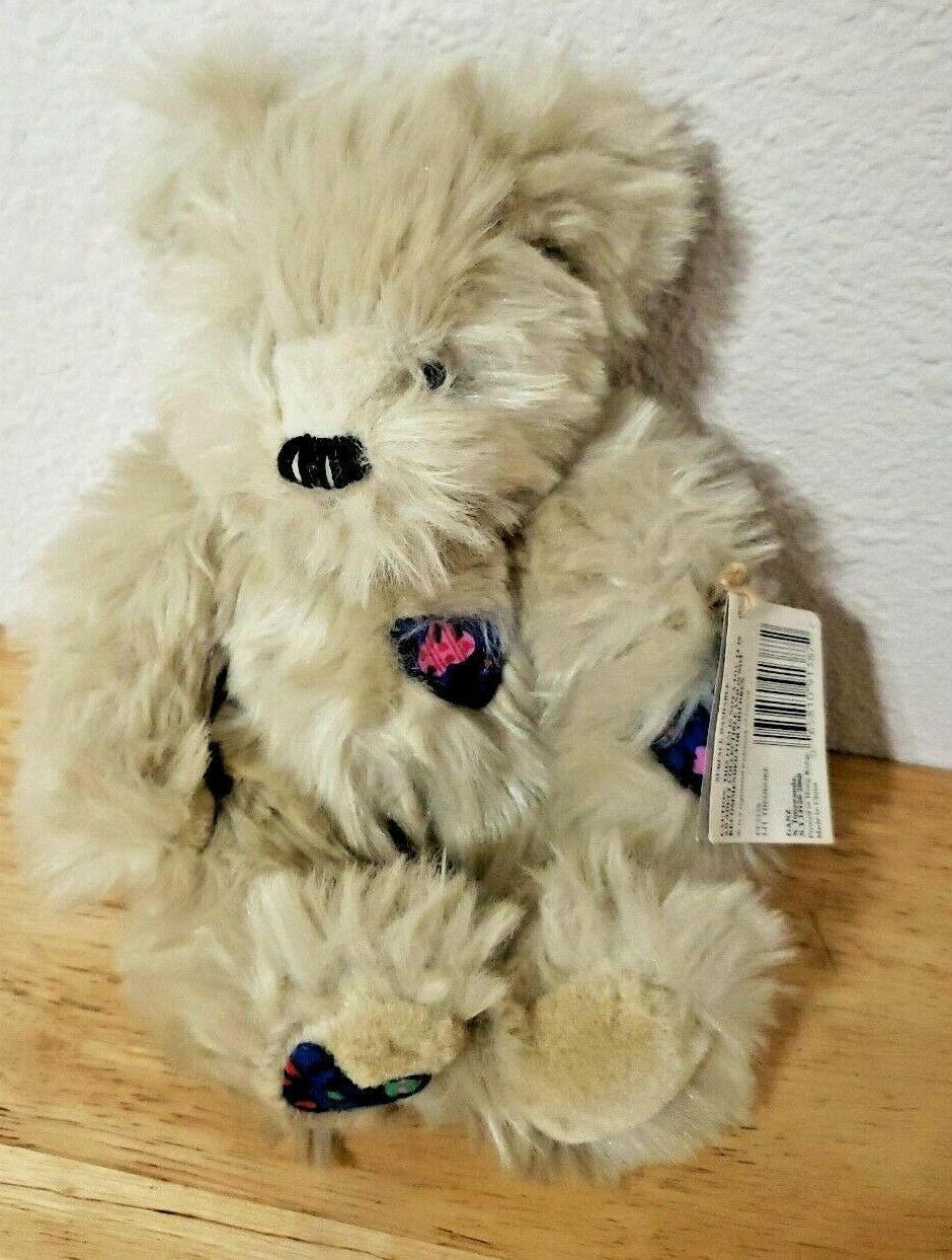 Primary image for Ganz Artist Designed Cottage Collectibles Bear Li'l Theodore tan w/tag 1995