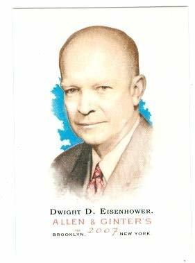 Primary image for Dwight D Eisenhower trading card (President of the United States) 2007 Topps All