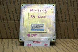 1988-1989 Hyundai Excel Precis Engine Control Unit ECU 3911021400 Module 891-7B6 - $18.49