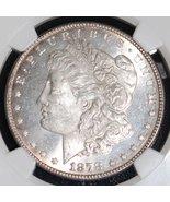 "1878 7 Tail Feathers Top 100 VAM 70 DDO ""RIB"" MS 63 Morgan Silver Dollar - $299.95"