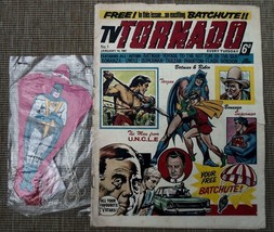 DC COMIC TV TORNADO ISSUE 1 FREE GIFT BATCHUTE vintage original 1967 batman - $640.42